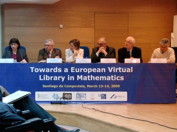 Cap a una biblioteca virtual europea de matemàtiques