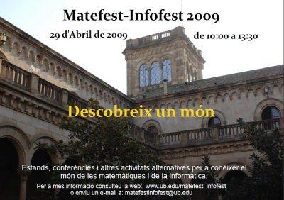 Matefest-Infofest 2009