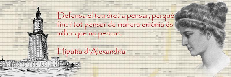 Aforismes: Hipàtia d'Alexandria