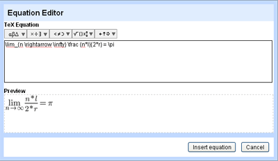 Editor LaTeX de Google Docs