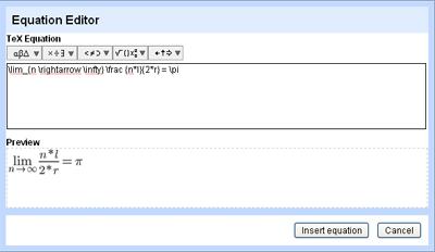 Editor LaTeX de Google Docs