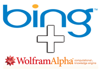 Bing + Wolfram|Alpha