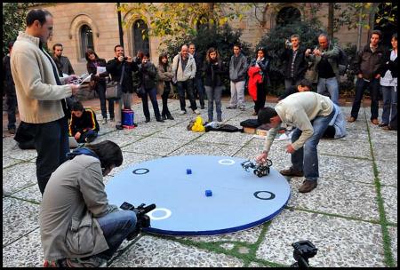 Competició de robots construïts amb LEGO, 6/11/09