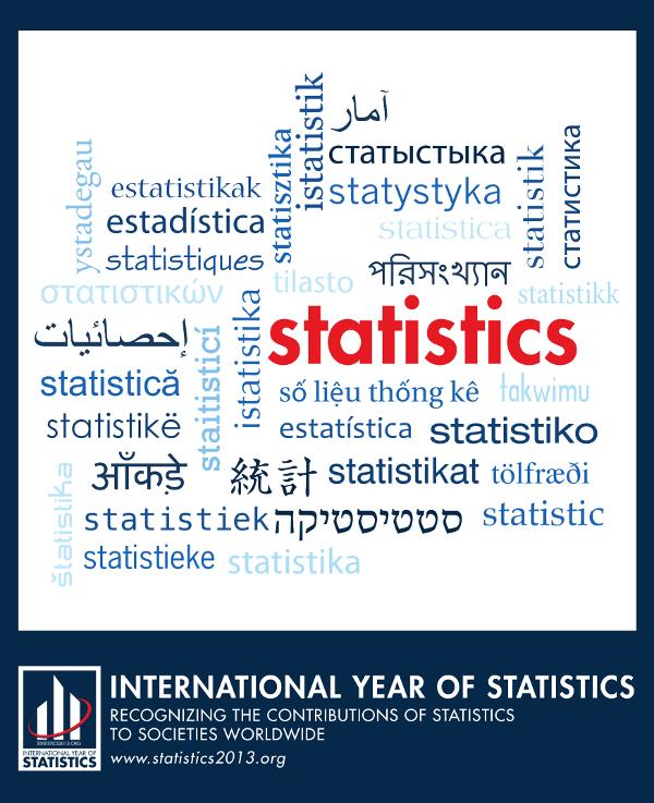 Any Internacional de l'Estadística 2013