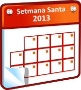 Calendari Setmana Santa