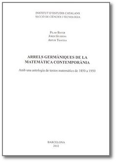 Arrels germàniques de la matemàtica contemporània