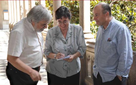 Pilar Bayer, Josep Pla i Anton Aubanell
