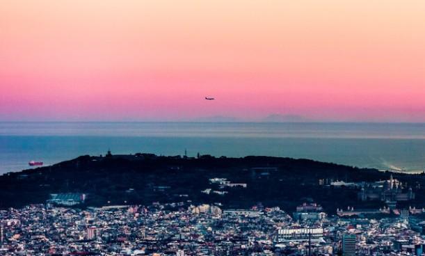 Mallorca, vista des de Barcelona