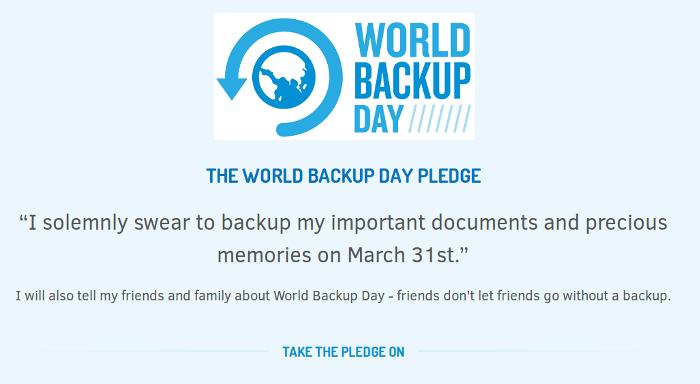 dia Mundial de la Còpia de Seguretat 2014