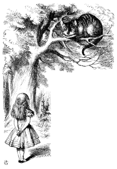 Il·lustració original de John Tenniel per a Alice's Adventures in Wonderland