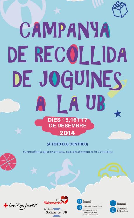Recollida de joguines a la UB 2014