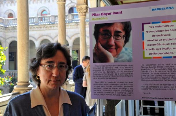 Pilar Bayer, catedràtica d'àlgebra de la Universitat de Barcelona