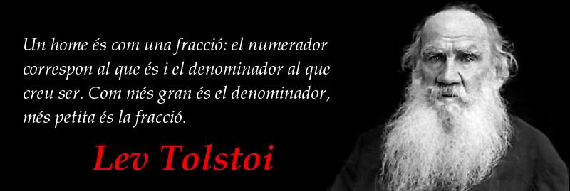 Aforismes: Lev Tolstoi