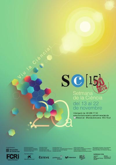Cartell guanyador de la 20a edició de la Setmana de la Ciència