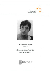 Selecta Pilar Bayer, volum I