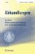 Abhandlungen aus dem Mathematischen Seminar der Hamburgischen Universität