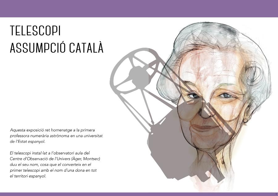 Exposició Telescopi Assumpció Català