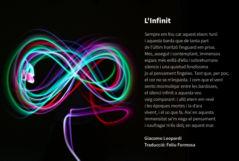L'Infinit, de Giacomo Leopardi