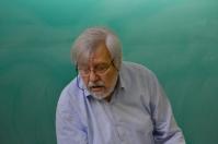 Josep Pla durant la presentació dels dos primers volums, el 28/03/2017