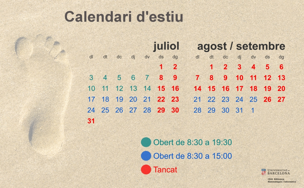 Calendari d'estiu