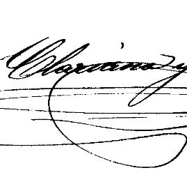 Signatura Lauro Clariana