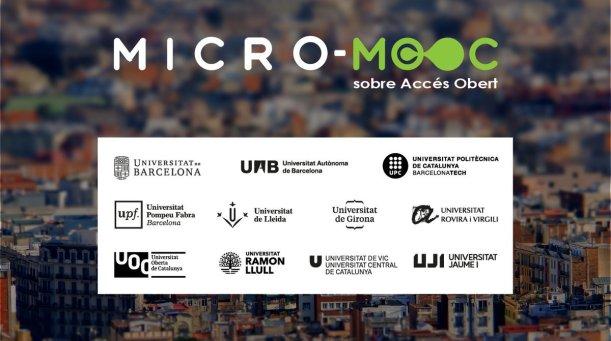 Micro-MOOC sobre Accés Obert