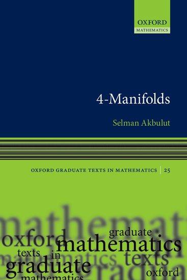 Akbulut, Selman. 4-manifolds