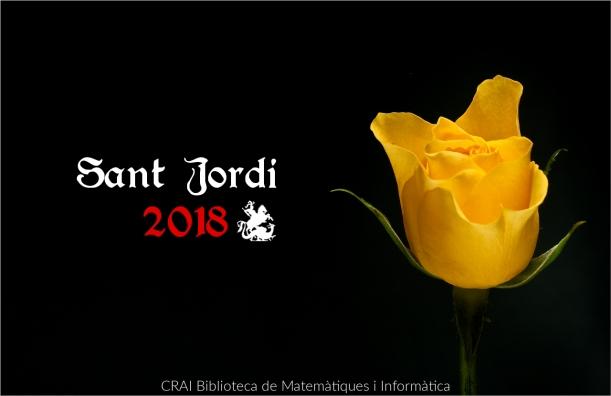Sant Jordi 2018