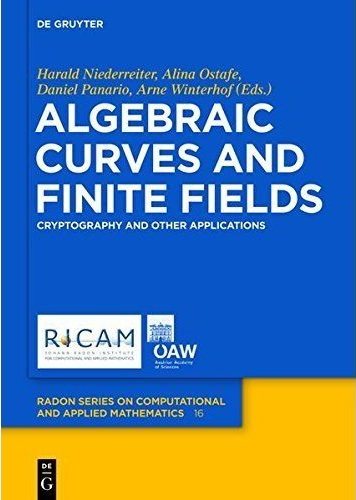 Thumbnail Algebraic curves and finite fields : cryptography and other applications
