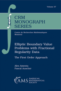 Elliptic boundary value problems with fractional regularity data : the first order approach
