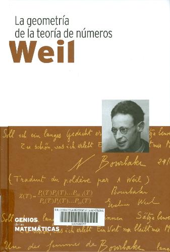 David .Weil : la geometría de la teoría de números