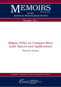 Elliptic PDEs on compact Ricci limit spaces and applications