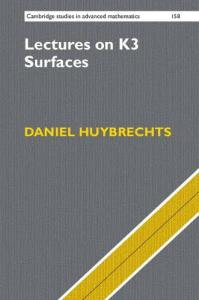Lectures on K3 surfaces