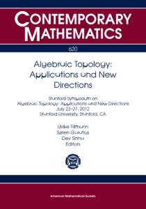 Algebraic topology : applications and new directions