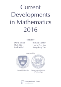 Current developments in mathematics 2016
