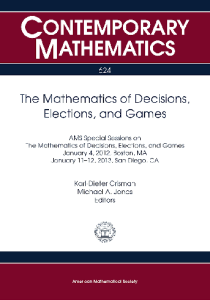 The mathematics of decisions, elections, and games
