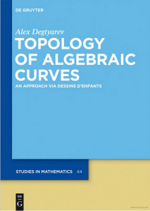 Topology of algebraic curves : an approach via Dessins d'enfants