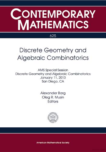 Discrete geometry and algebraic combinatorics