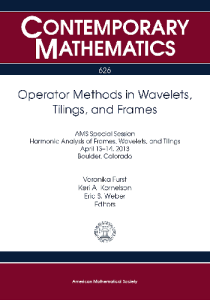 Operator methods in wavelets, tilings, and frames