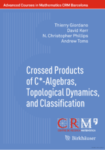 Crossed Products of C -Algebras, Topological Dynamics, and Classification