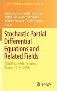 Stochastic partial differential equations and related fields
