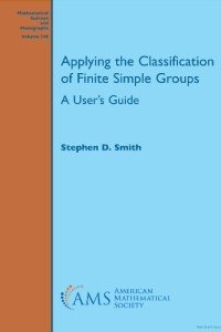 Applying the classification of finite simple groups : a user's guide