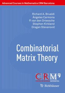 Combinatorial matrix theory