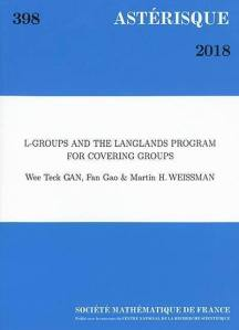L-groups and the Langlands program for covering groups