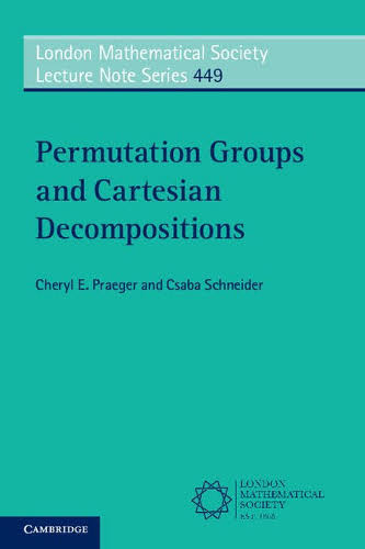 Permutation groups and cartesian decompositions