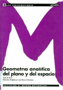 Geometría analítica del plano y del espacio