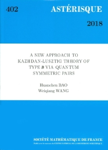 A new approach to kazhdan-lusztig theory of type b via quantum symmetric pairs