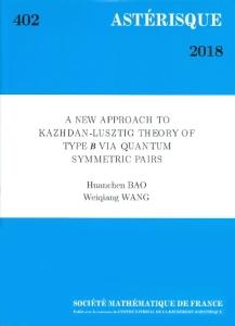 A new approach to kazhdan-lusztig theory of type b via quantum symmetric pairs