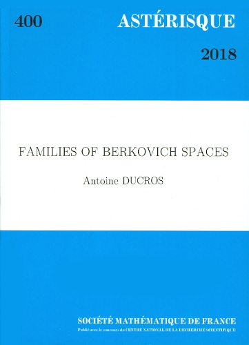Families of berkovich spaces