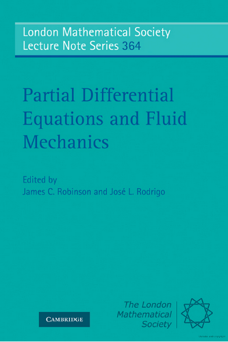 Partial differential equations in fluid mechanics